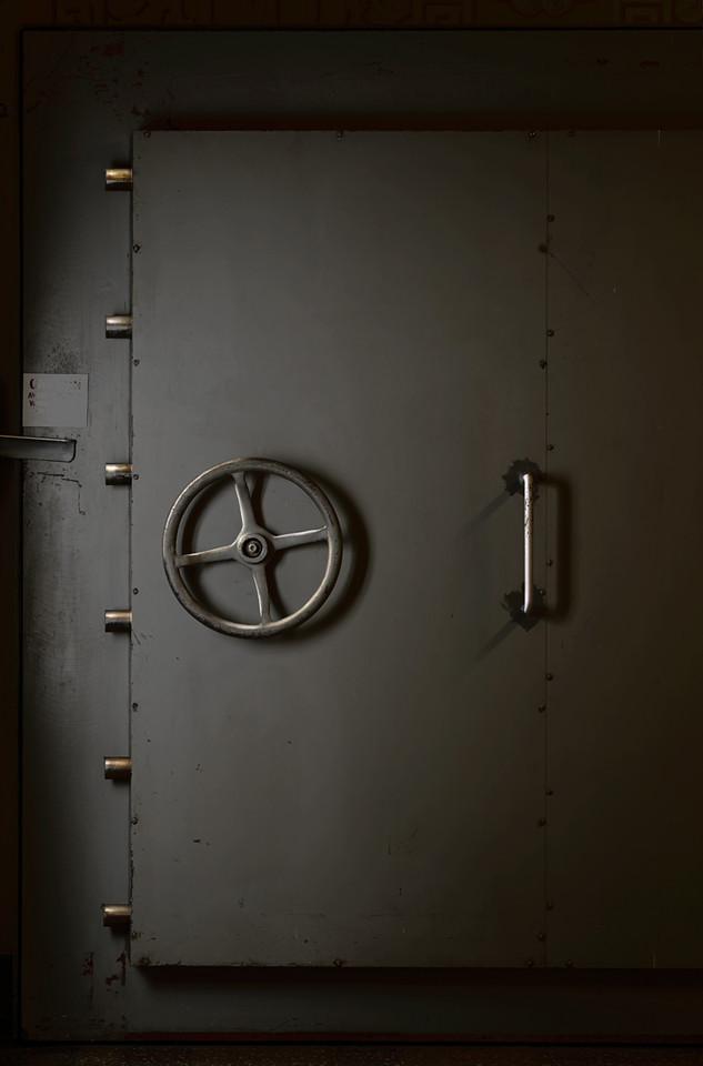Bunker Door, Greenbrier WV