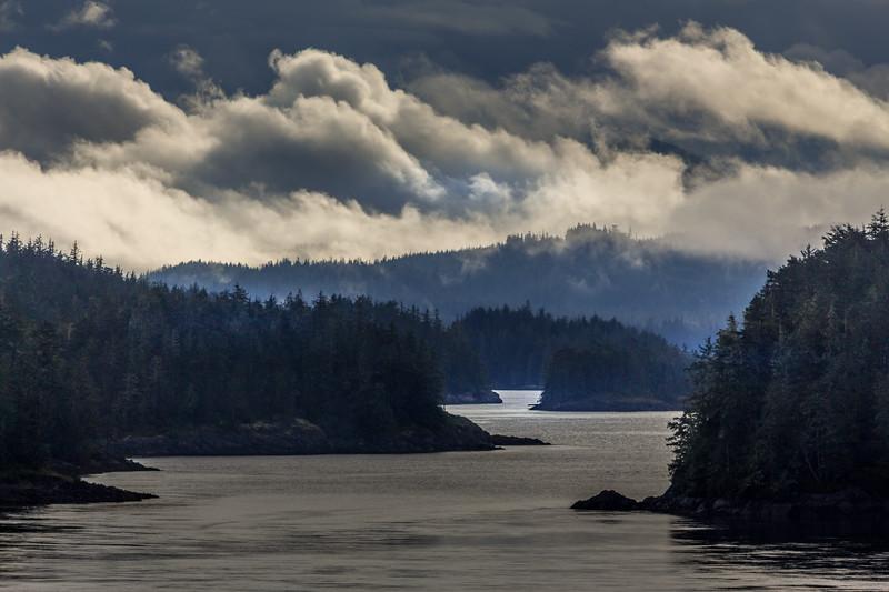 Stunning coastline of British Columbia