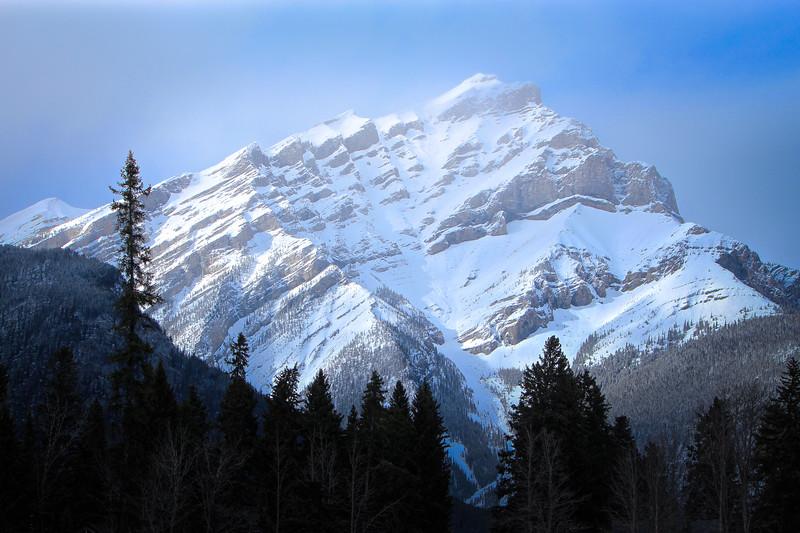 Cascade Mountain, Alberta, Canada