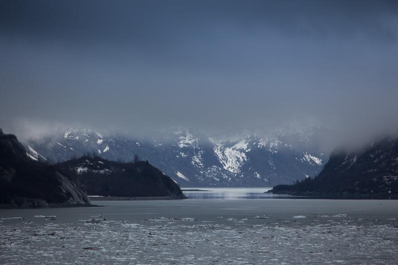 Mist in Glacier Bay, Alaska