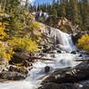 Upper Tangle falls in Jasper National Park, Alberta, Canada.