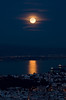 Moon Rise During the Lunar Eclipse<br /> Twin Peaks<br /> San Francisco, California<br /> <br /> Canon 5D