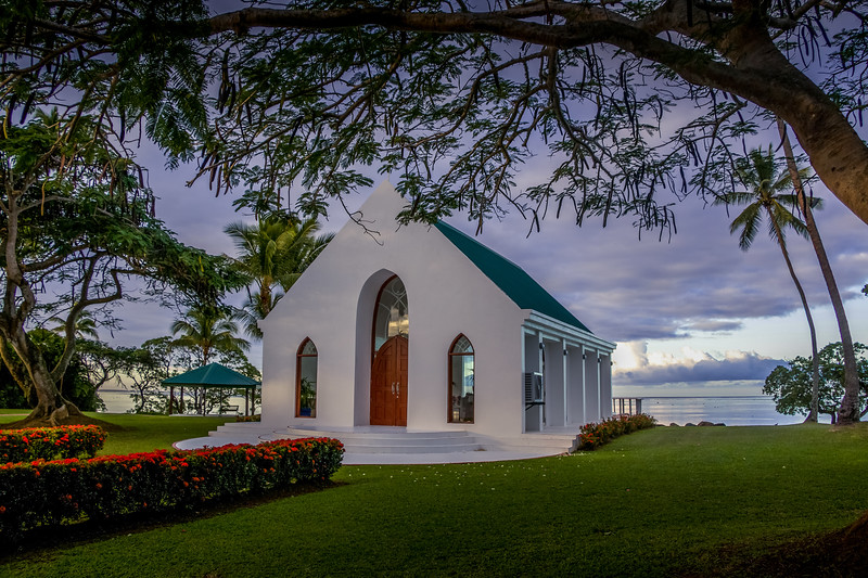 Wedding chapel, Yanuca Island, Fiji