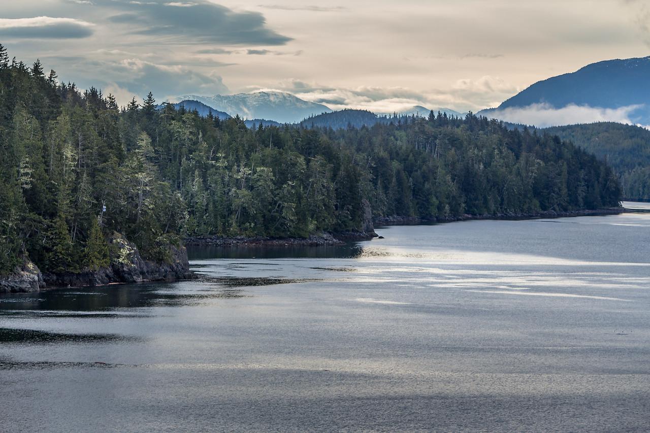 Beautiful British Columbian coastline