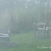 """Foggy Morning at Pisgah Inn"""
