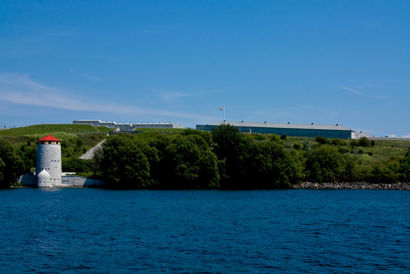 View of Fort Henry from the Royal Military College campus