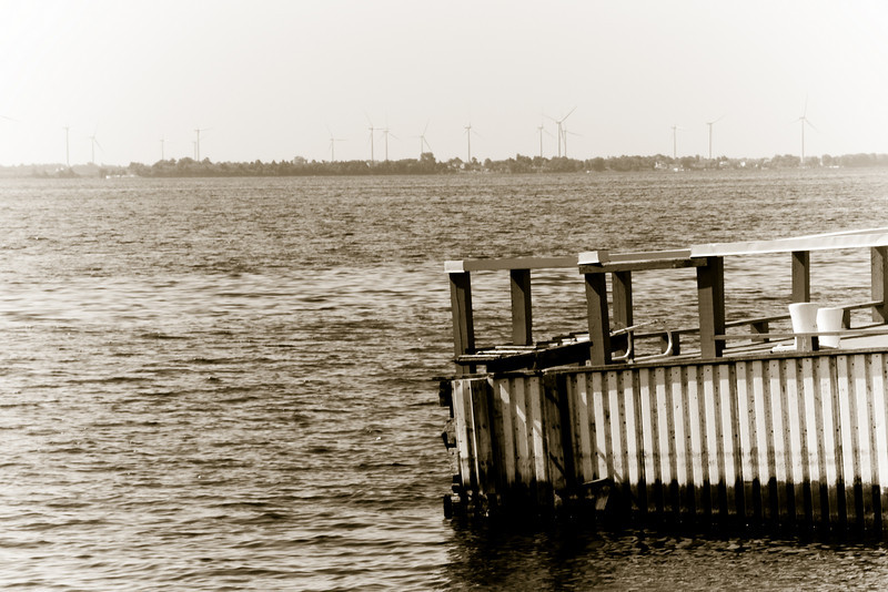 Kingston Waterfront - Lake Ontario (opposite are the windmill farms of Wolfe Island)