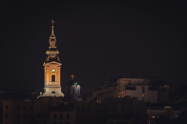 Belgrade Night View