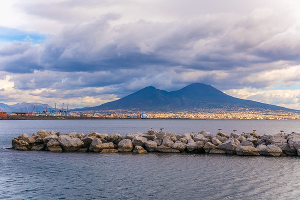 View of Vesuvius