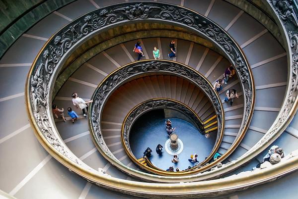 Swirly Stairs @ Vatican Museum
