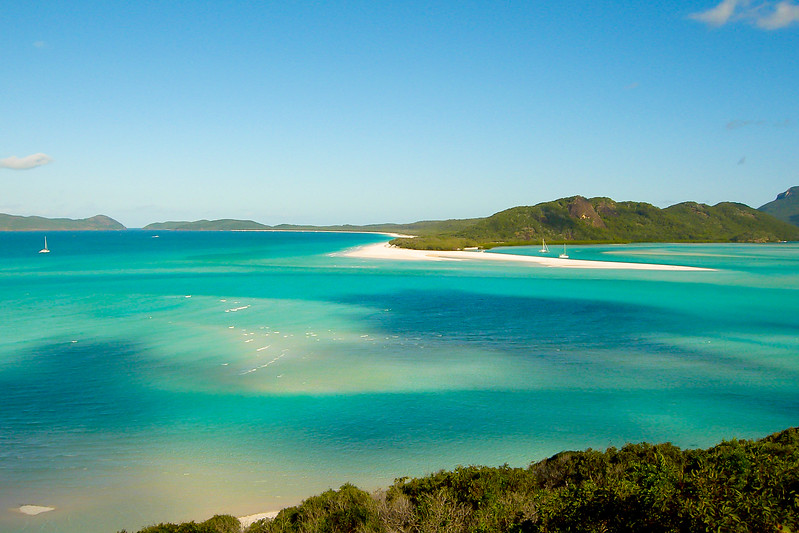 Whitsundays islands, Australie