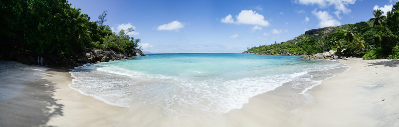 Panorama Plage d'Anse Major