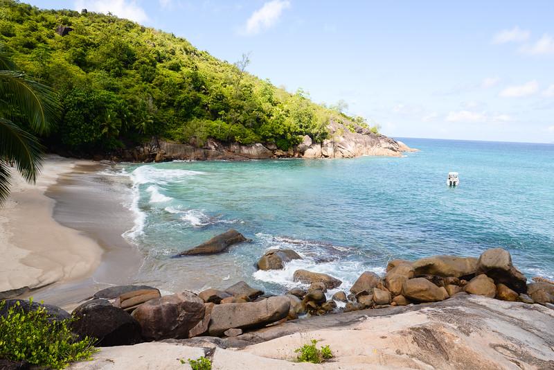 Anse Major trail et plage d'Anse Major