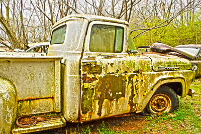Antique Ford F100 Truck