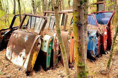 Old Car doors