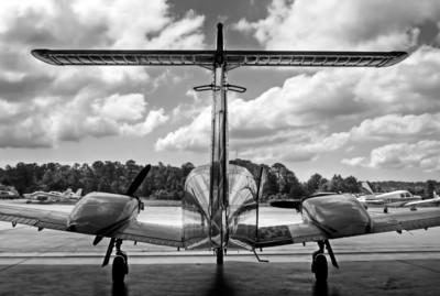 Taken at Aero Service Hanger, Wilmington, North Carolina.  Tail number 120RH