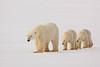 Polar Bear with her two Cubs John Chapman.