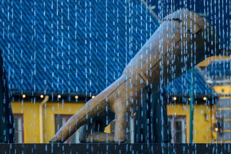 Modern art fountain, Oslo- Norway
