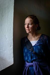 Lisa by Window, Viking Museum, Bygdoy Norway