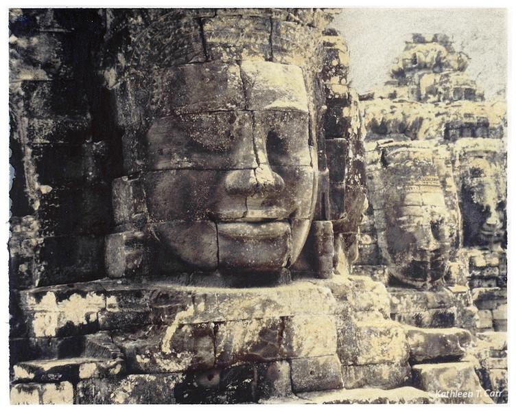 Faces, Bayon, Angkor Wat