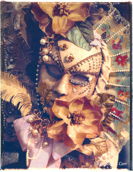 Flowered Mask, Venice