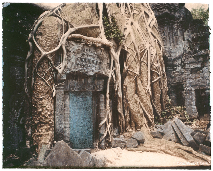 Door, Ta Prohm, Angkor Wat
