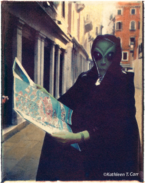 Lost Alien, Carnevale, Venice
