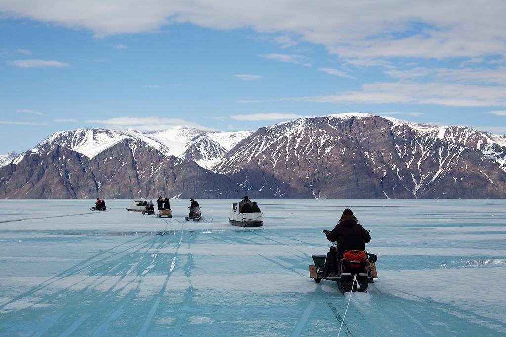 Pond Inlet. Baffin Island.Canada. June 2013.