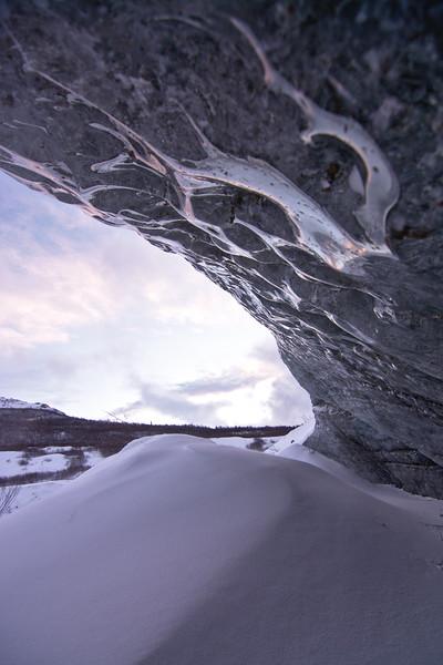 Castner Glacier Ice