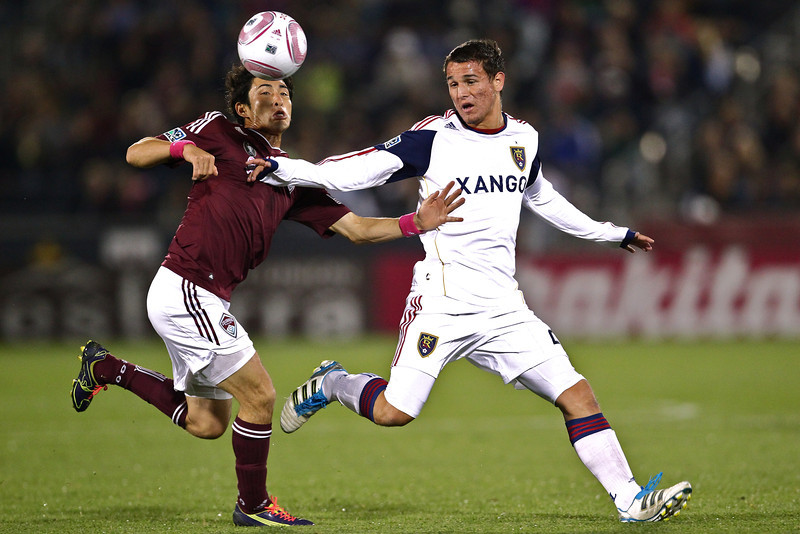The Colorado Rapids hosted Real Salt Lake for the Rocky Mountain Cup at Dick's Sporting Goods Park in Commerce City, CO.