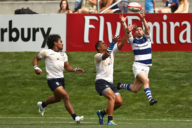 June 3, 2012; Glendale, Colorado, USA; Belmont Shore against Glendale during the Nationals Mens Club Rugby Championships at Infinity Park Stadium.