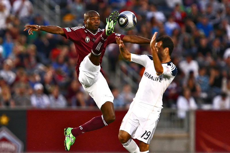 The Colorado Rapids played host to the LA Galaxy at Dick's Sporting Goods Park in Commerce City, CO.