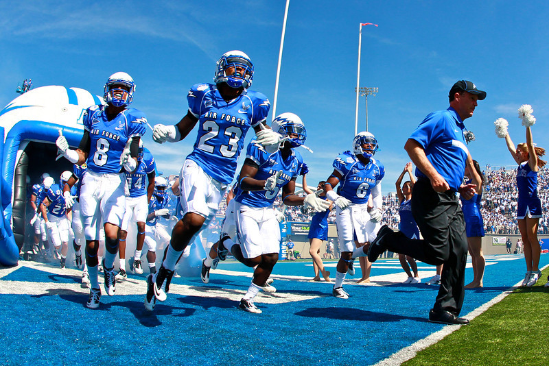 Air Force hosted Tennessee State at Falcon Stadium in Colorado Springs, CO.