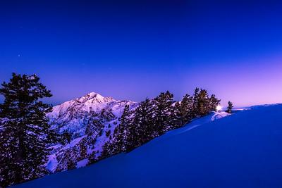 Ben Lomond Alpenglow