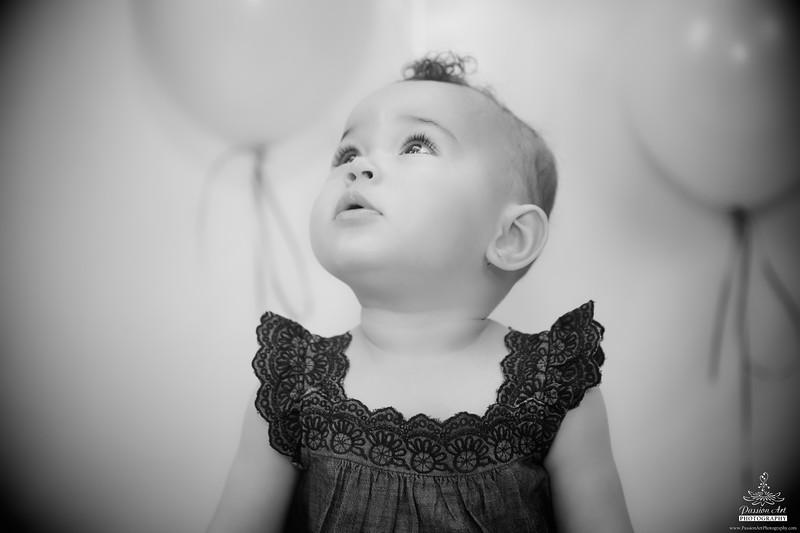Baby Girl | Black & White