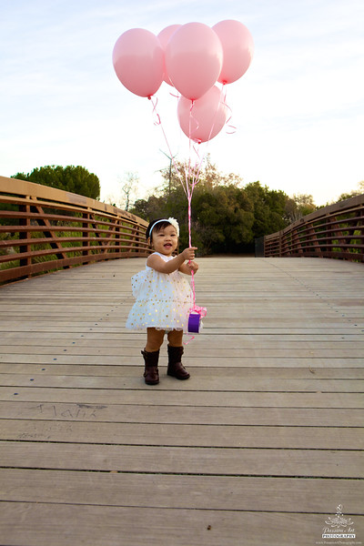 One Year   Baby Girl   Outdoor