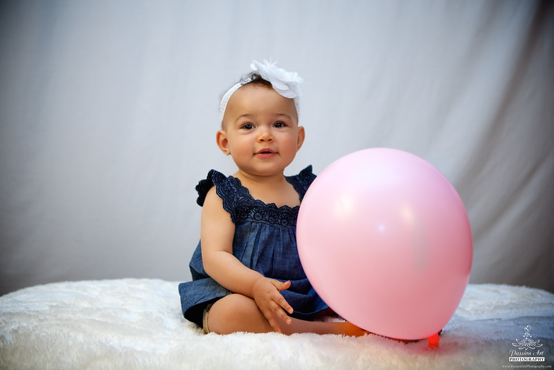 Baby Girl With Ballon