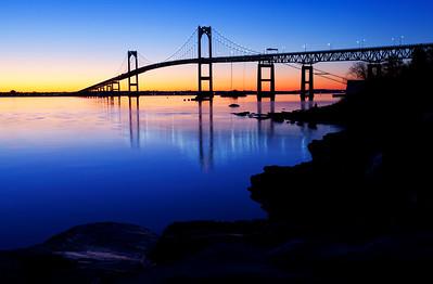 Bridge Silhouette Sunrise