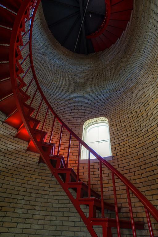 Nauset Lighthouse Interior, MA