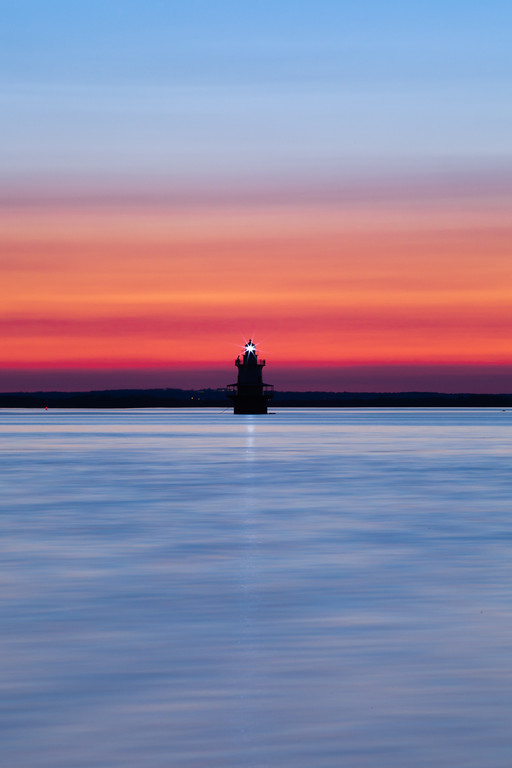 Shoal Lighthouse Sunset
