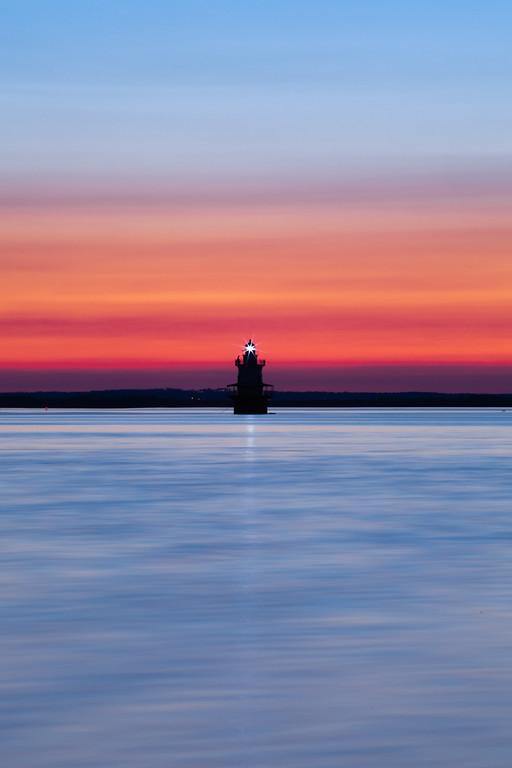 Shoal Lighthouse Sunset