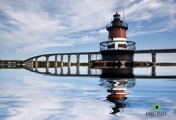 Plum Lighthouse Reflection, RI