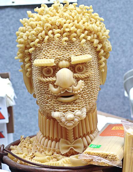 Pasta man, Naples, Italy