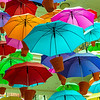 Colorful Umbrellas, Melbourne Australia