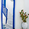 Mykonos doorway, Mykonos, Greece