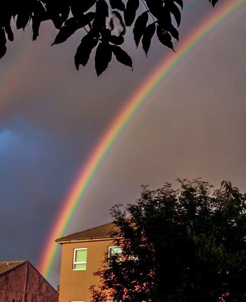 Rainbow, Uddingston, Scotland