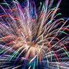 Colorful Fireworks, Romeoville, Illinois