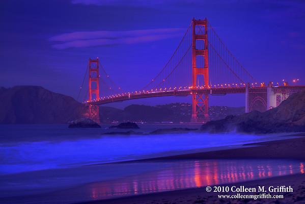 Twilight Bliss ©  2010 Colleen M. Griffith. All Rights Reserved.  This material may not be published, broadcast, modified, or redistributed in any way without written agreement with the creator.  This image is registered with the US Copyright Office. www.colleenmgriffith.com www.facebook.com/colleen.griffith  You can see more of my San Francisco photos, by going to: www.colleenmgriffith.com/Galleries/San-Francisco/San-Francisco