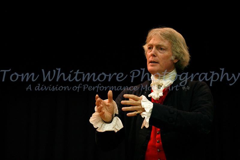 Thomas Jefferson re-enactor.