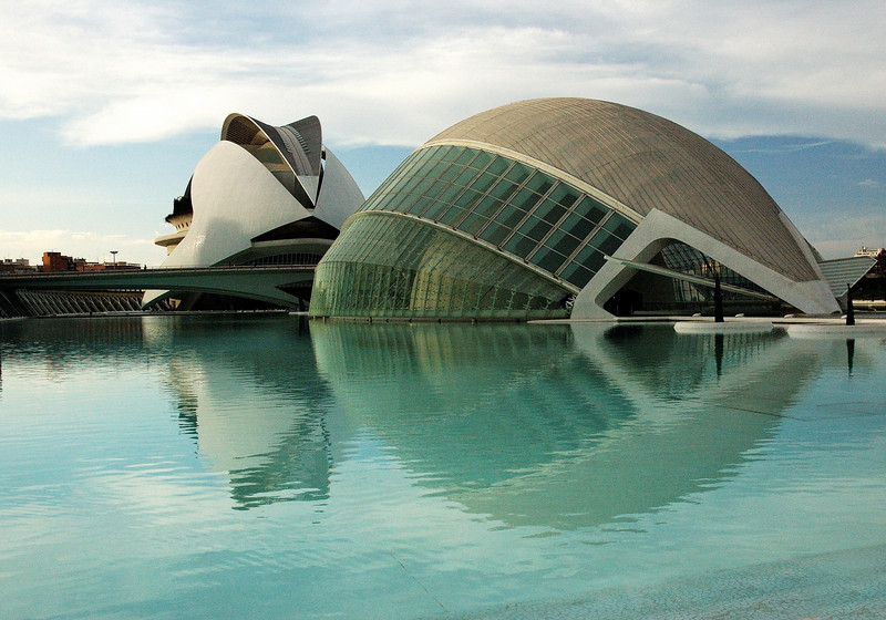 S.Calatrava creations in Valencia..